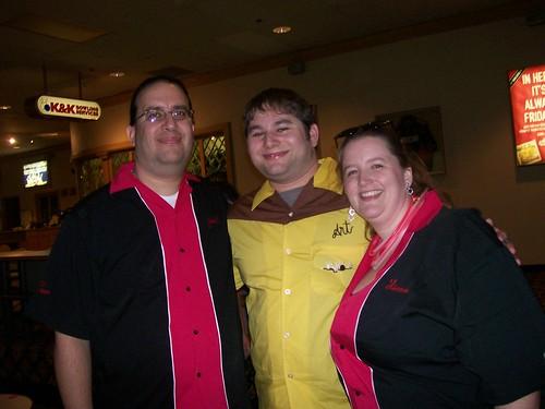 Joel & Karen Garcia & Josh from BowlingShirt.com