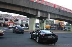 Ferrari 599 GTB Fiorano en Mxico DF (Daniel Palestino) Tags: en sport mxico spider s turbo enzo gran boxster turismo hermanos nera gallardo maranello gtb r8 gt3 997 4200 exige 575m 599 fiorano exticos mxico df lotus audi lamborghini porsche ferrari rodrguez autodromo autos rs gt3 maserati