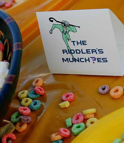 riddler's munchies!