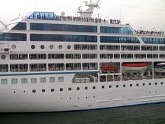India - Kerala (Chris&Steve) Tags: cruise india marine ship v100 cruising vessel kerala maritime cruiseship nautical shipping 2008 cochin kochi p100 10millionphotos azamaraquest