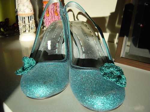 Clio's shoes by you.