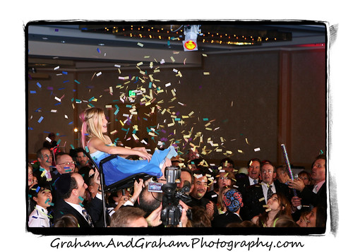 The Big Bat Mitzvah Party Moment by Graham & Graham Photography