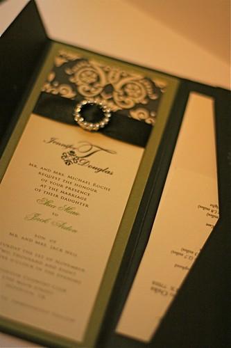 Elegant Pocket Wedding Invitation Collection-1