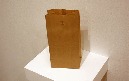 """Art"" aka, a paper bag"