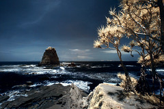 Papuma Beach .................. (yoga - photowork) Tags: canon indonesia landscape ir photography 350d infrared 1022mm