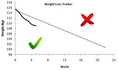 graphs weightloss trackers
