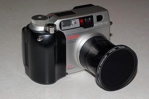 Olympus C2020Z with Hoya R72 IR Filter