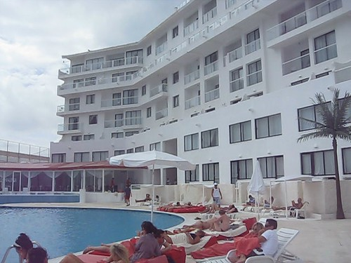 Video of Bel Air Hotel in Cancun, Mexico