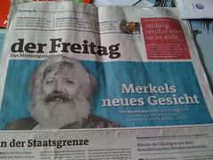 derFreitag: Merkel neues Gesicht