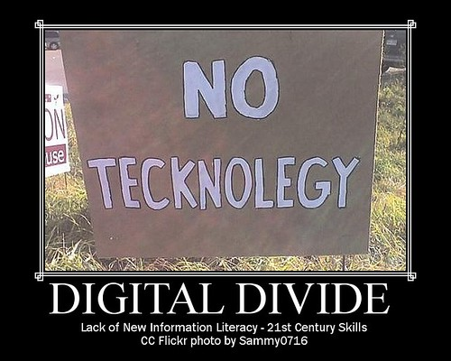 digital divide in education Digital divide digital education may be the future of education, but most american schools are far from ready this hechinger report series examines a national.