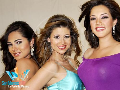 Reina y princesas de San Marcos 2009