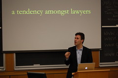 "Richard Susskind speaks on ""The End of La..."
