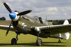 F-AZKU - 2105915 - Private - Curtiss P-40N Kittyhawk - 090713 - Duxford - Steven Gray - IMG_3482