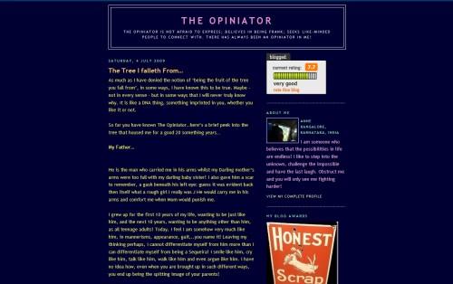 The Opiniator