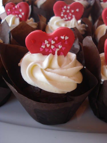 Krema Dolgulu Cupcake