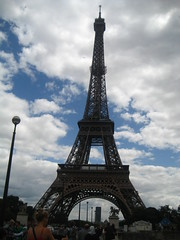 Mandatory Eiffel Tower shot