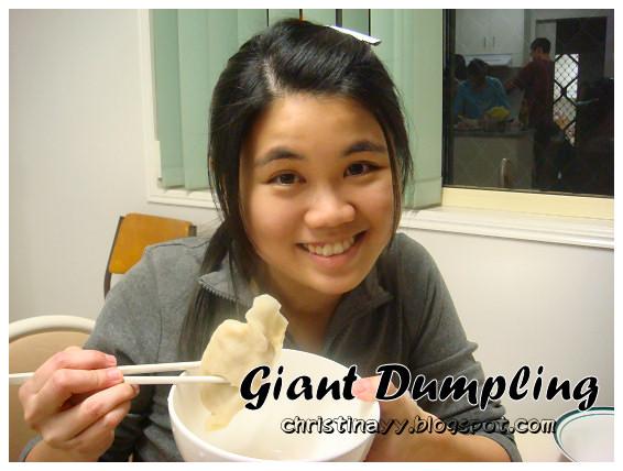 Home-cook: Giant Dumpling