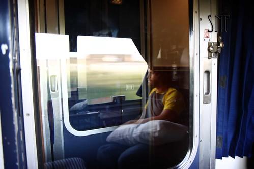 . train ride .