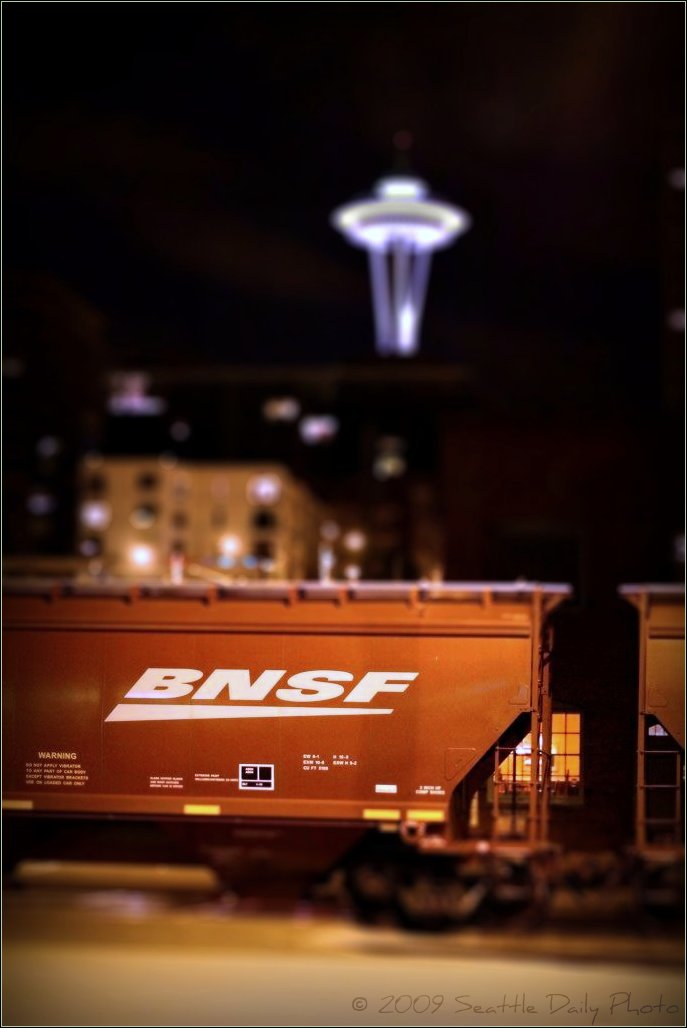 BNSF Seattle Noir