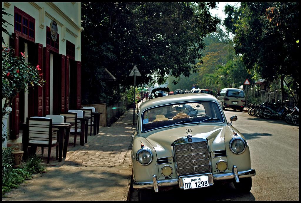 Classic Mercedez in Luang Prabang