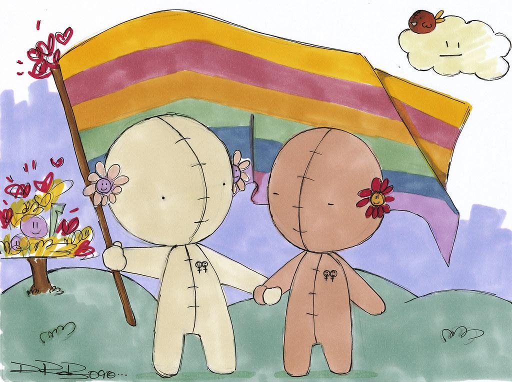 Gay female pride (My Own F Book, Teen Stories) Tags: gay wedding