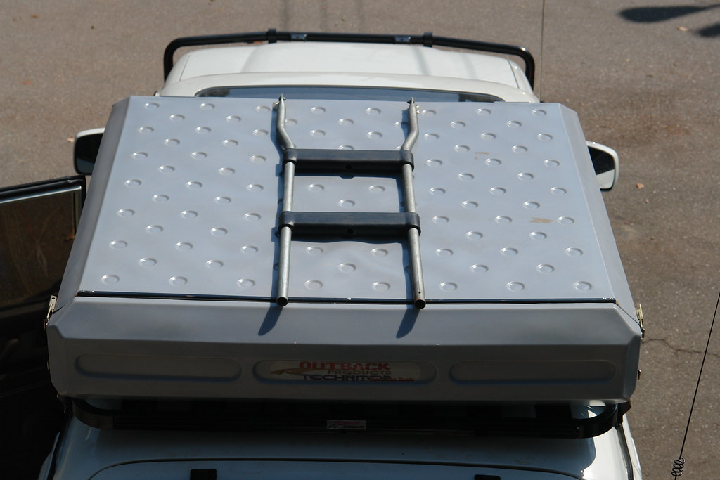 1/8  hole at both sides of rear cover & For Sale: Technitop Roof Top Tent (RTT) - Expedition Portal