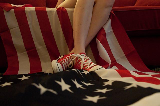 red usa stars nikon flag americanflag converse 365 allstars chucktaylor d90