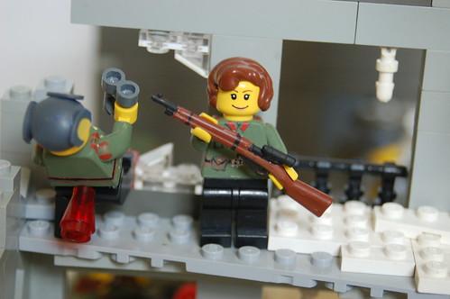 Russian Sniper Team custom minifig