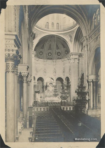 Manila Cathedral 1900s