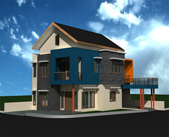 Desain Rumah-Minimalis-Sudut-2 by Indograha Arsitama Desain & Build