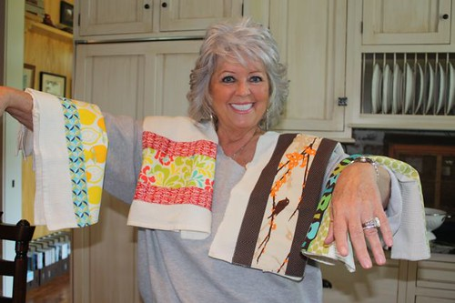 Paula Dean loves my dishtowels!