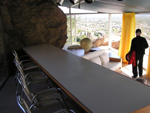 Built-in Dining Table, Albert Frey House, Palm Springs