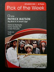 Starbucks iTunes Pick of the Week - Patrick Watson - Big Bird In A Small Cage