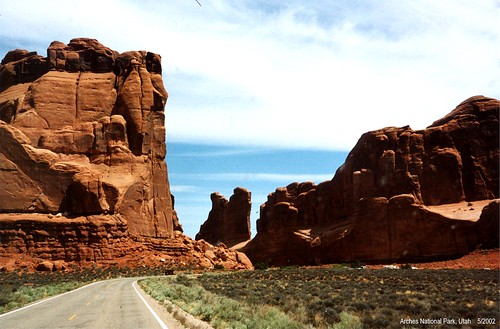 Road to the Arches - Arches National Park