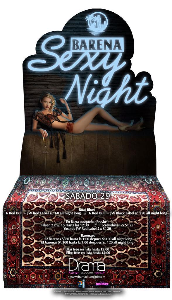 Barena Sexy Night - Drama