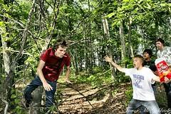 Trey Falling (Trevor McGoldrick) Tags: tree ball matt joseph king falling le randy recreation horn acres trey weidensall