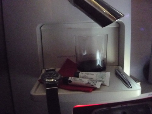 Virgin Upper Class - bedside table