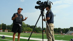 Coach Mike Grossner interviewed by NBC Action News