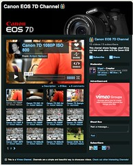 Canon EOS 7D Channel on Vimeo