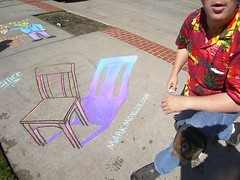 Mark Monlux 3D Chair Shadow for Lance