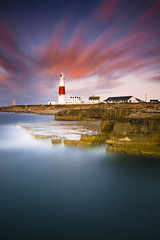 Bill Lighthouse (AdamFeery) Tags: longexposure lighthouse sunrise portlandbill