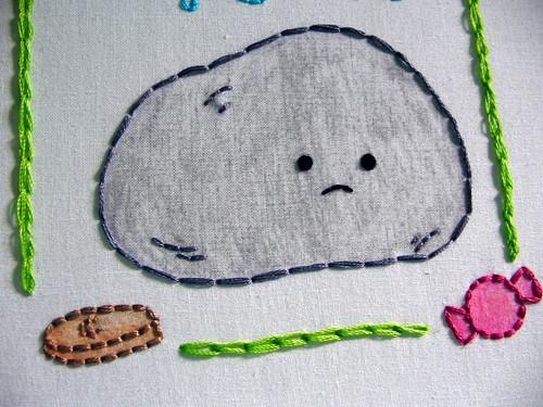 my chain stitch...