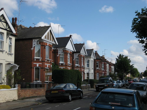 Terraced houses in Willesden Green