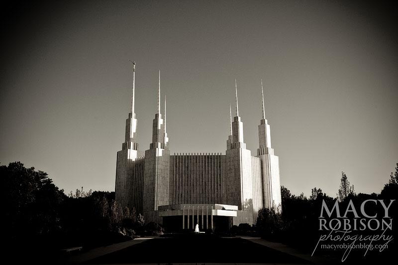 Washington DC LDS Temple Exterior 1