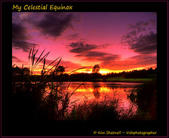 My Celestial Equinox (Irishphotographer) Tags: ireland sunset sky sun lake grass river evening co tranquil equinox armagh peacefull kinkade beautifulireland irishphotographer imagesofireland kimshatwell breathtakingphotosofnature mycelestialequinox beautifulirelandcalander wwwdoublevisionimageswebscom