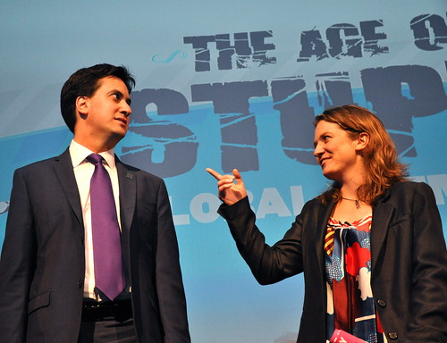 Ed Miliband and Franny Armstrong give it some welly by theageofstupid.