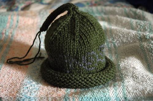 Swirls Baby Hat