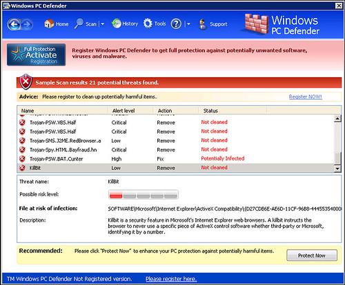 Adware/PC Defender