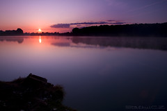 Dvorecky lake (StafbulCZ) Tags: blue sun water fog sunrise canon colours level vapour gettyimages slunce dvorce tamron1750 vychodslunce canoneos40d fbdg jicinsko stafbulcz jinsko dvoreckylake dvorek jaroslavvondracek