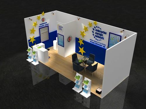 Gaziantep Ticaret Odası Stand Tasarımı